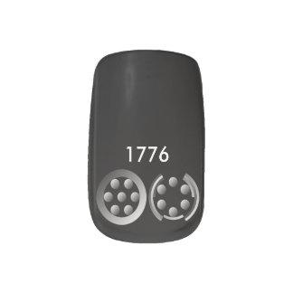 Centesimal 1776 minx nail wraps