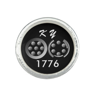 Centesimal 1776 photo rings