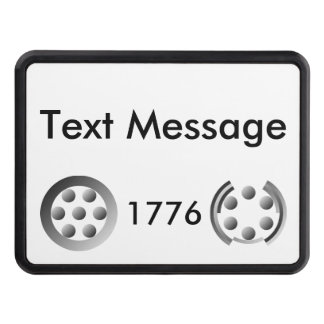 Centesimal 1776 tow hitch covers