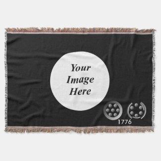 Centesimal 1776 throw blanket