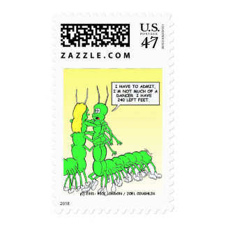 Centipede Dancing Funny Tees, Gifts & Collectibles Stamp