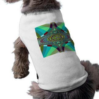Centipede Ovals Fractal Dog Shirt