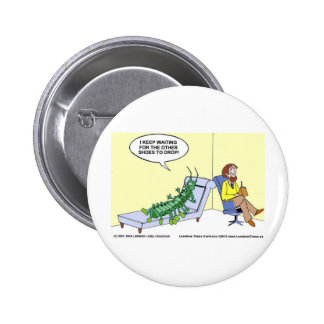 Centipede Psychiatry Funny Cards Mugs & Gifts Pins