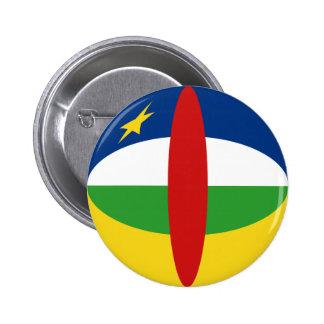 Centrafrique Fisheye Flag Button