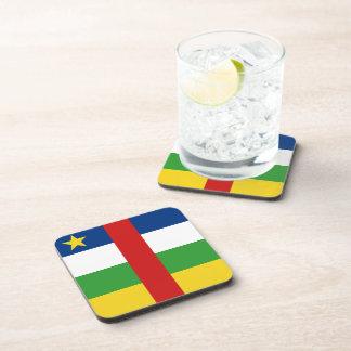 Centrafrique Flag Coaster