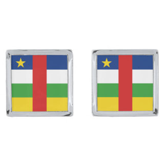 Centrafrique Flag Cufflinks