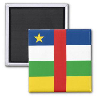 Centrafrique Flag Magnet