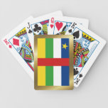 Centrafrique Flag Playing Cards