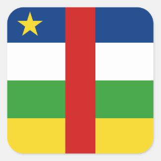 Centrafrique Flag Sticker
