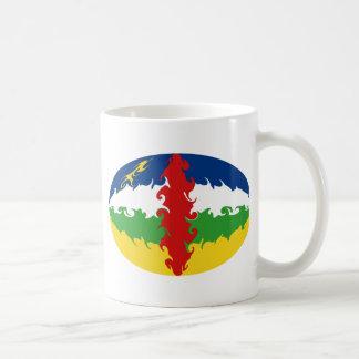 Centrafrique Gnarly Flag Mug