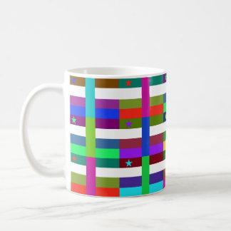 Centrafrique Multihue Flags Mug