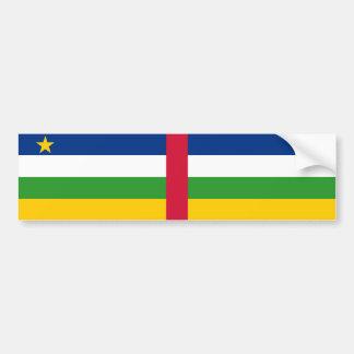 Central Africa/African Republic Flag Bumper Sticker