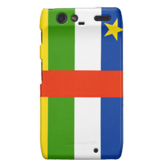 Central Africa Republic Flag Droid RAZR Cover