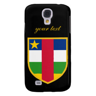 Central African Flag Samsung Galaxy S4 Case