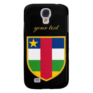 Central African Flag Samsung S4 Case