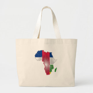 Central African Rep Large Tote Bag