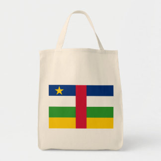 central african republic canvas bag