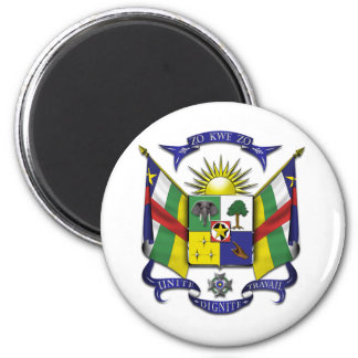 Central African Republic CF Magnet