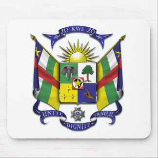 Central African Republic CF Mouse Pad