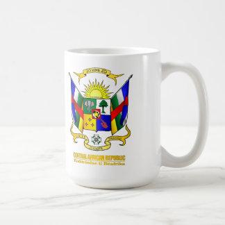 Central African Republic COA Coffee Mug