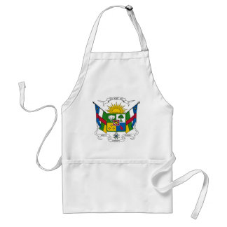 Central African Republic Coat of Arms Adult Apron