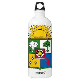 Central African Republic Coat of Arms SIGG Traveler 1.0L Water Bottle