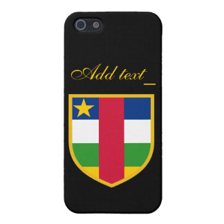 Central African Republic Flag Case For iPhone SE/5/5s