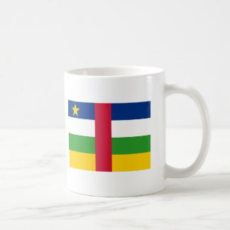 Central African Republic flag, CentralAfricanRe... Classic White Coffee Mug