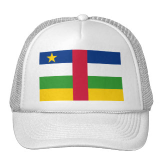 Central African Republic Flag CF Trucker Hat
