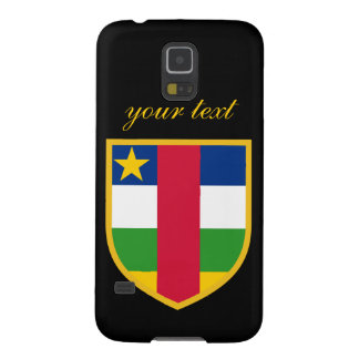 Central African Republic Flag Galaxy S5 Case