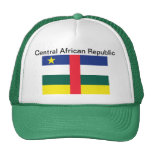 Central African Republic Flag Hat