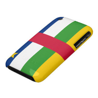 Central African Republic Flag iPhone 3 Cover