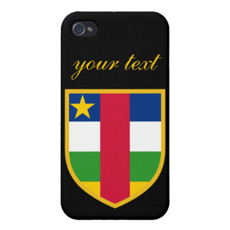 Central African Republic Flag iPhone 4/4S Case