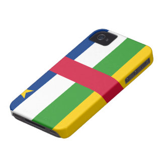 Central African Republic Flag iPhone 4 Case