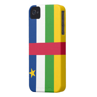 Central African Republic Flag iPhone 4 Case-Mate Case
