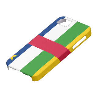 Central African Republic Flag iPhone SE/5/5s Case