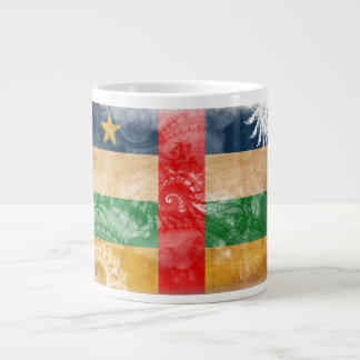 Central African Republic Flag Large Coffee Mug