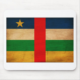 Central African Republic Flag Mouse Pad