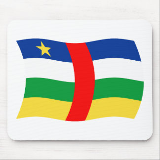 Central African Republic Flag Mousepad