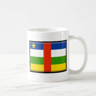 Central African Republic Flag Coffee Mugs