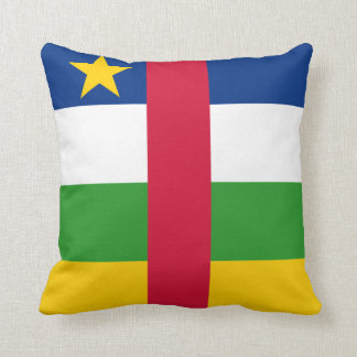 Central African Republic Flag pillow
