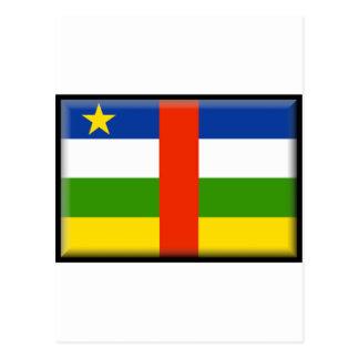 Central African Republic Flag Postcard