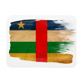 Central African Republic Flag Magnets