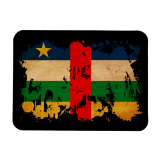 Central African Republic Flag Vinyl Magnets