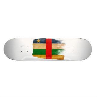 Central African Republic Flag Skate Deck
