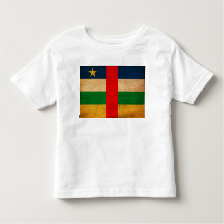 Central African Republic Flag Toddler T-shirt