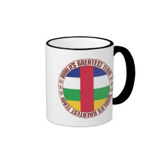Central African Republic Greatest Team Ringer Coffee Mug