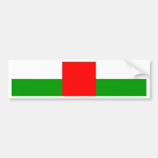 Central African Republic High quality Flag Bumper Sticker