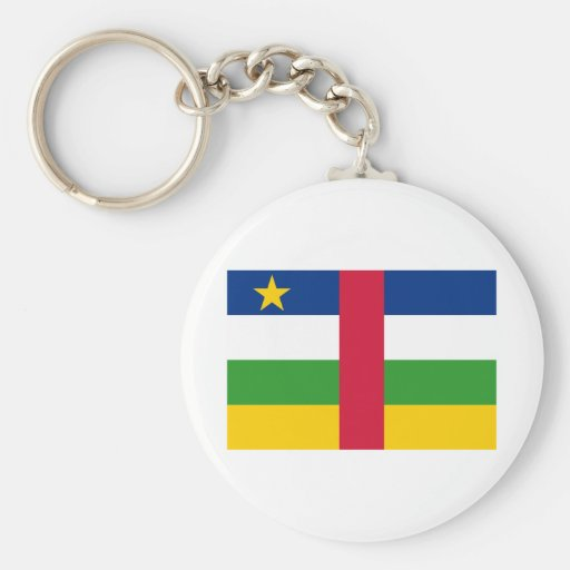Central African Republic Key Chain