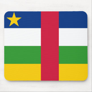 central african republic mouse pad